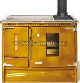 Плита BESAYA Enc.  Отопительно-варочная печь со стеклокерамической поверхностью и грилем.